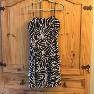 Like new floral print party dress